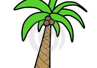 200x140 Simple A Cartoon Palm Tree How To Draw Palm Trees
