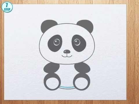 480x360 How To Draw A Panda Bear