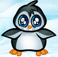 236x234 How To Draw An Easy Cartoon Penguin Toondraw Learn How To Draw