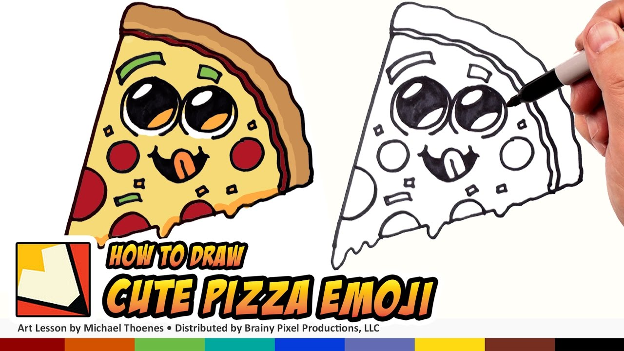 1280x720 How To Draw Cute Food
