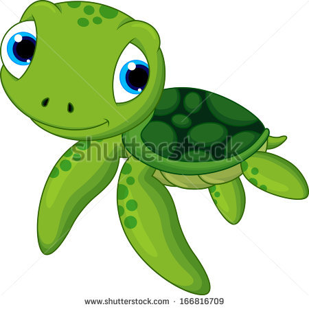 cartoon sea turtle drawing at getdrawings com free for personal