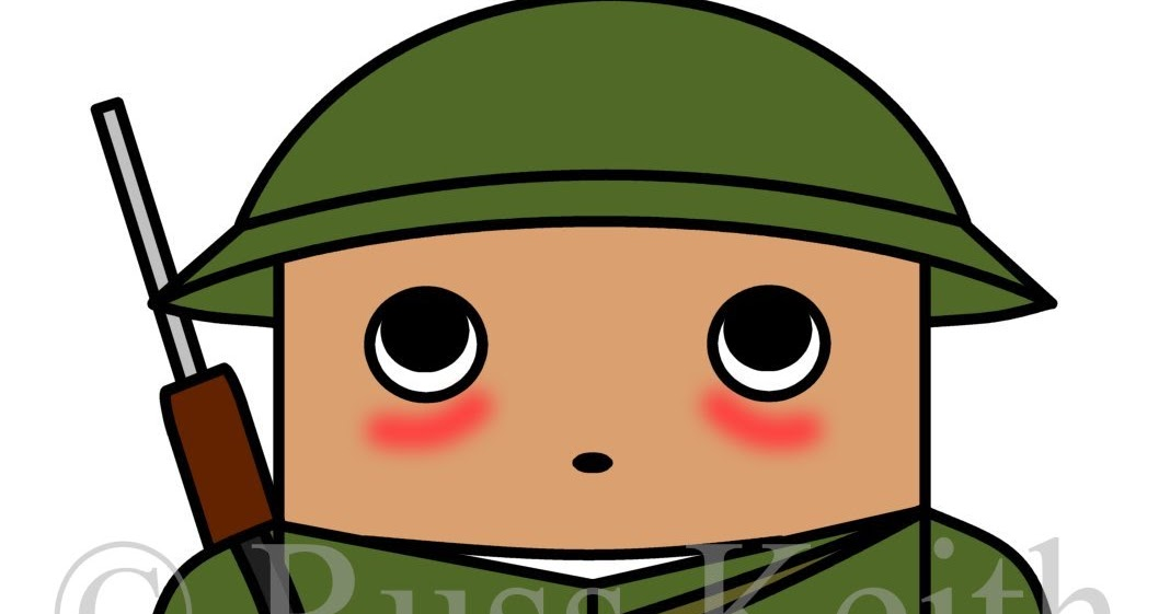 1068x561 How To Draw Cartoons Chibi Soldier