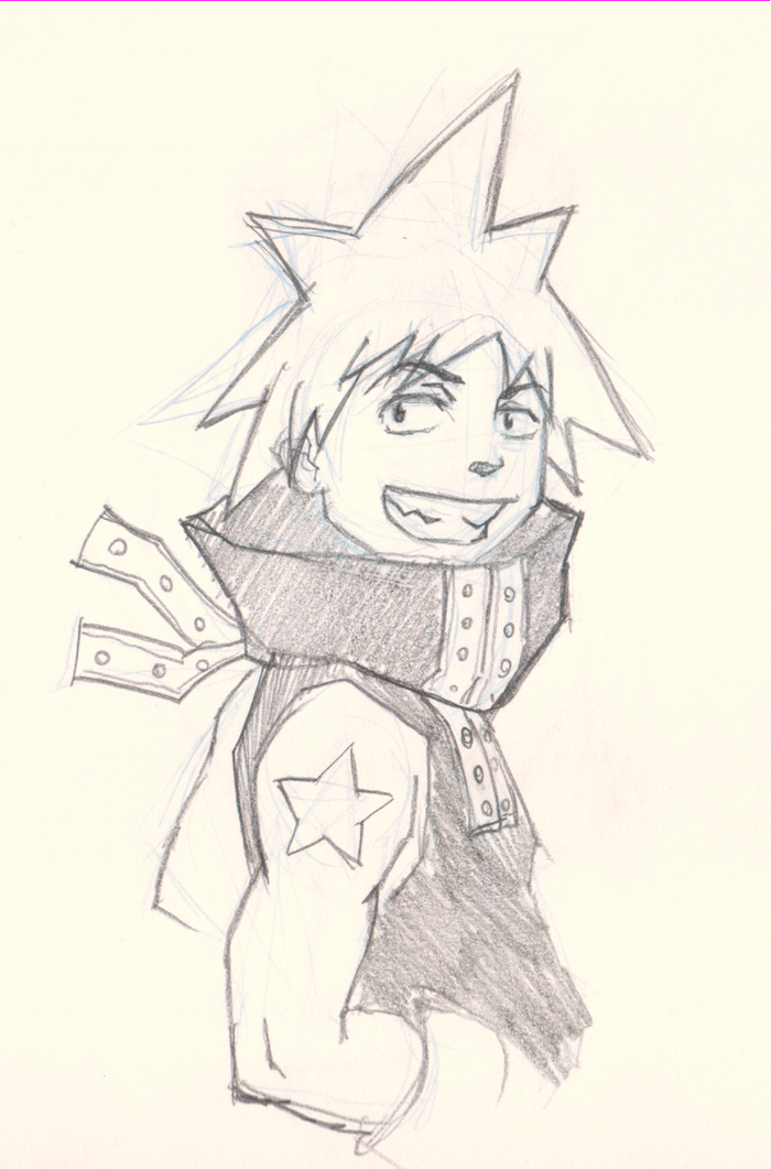 700x1061 How To Draw Anime Blackstar Soul Eater