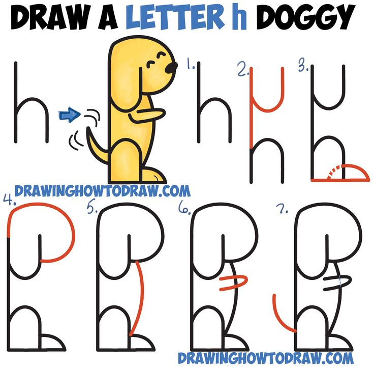 736x723 240 Best Drawing With Letters, Numbers And Words For Kids Images