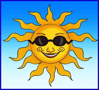 350x319 How To Draw A Cartoon Sun Sun Faces Cartoon