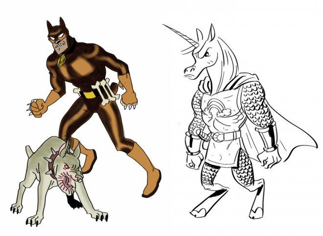 Cartoon Superheroes Drawing at GetDrawings com | Free for