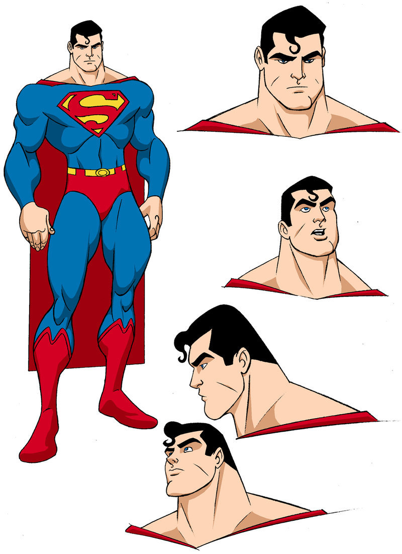 800x1101 Superman Cartoon Drawing Superman Designsmborkowski