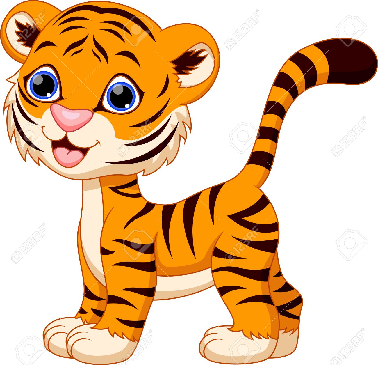1300x1254 Pictures Picture Of A Cartoon Tiger,