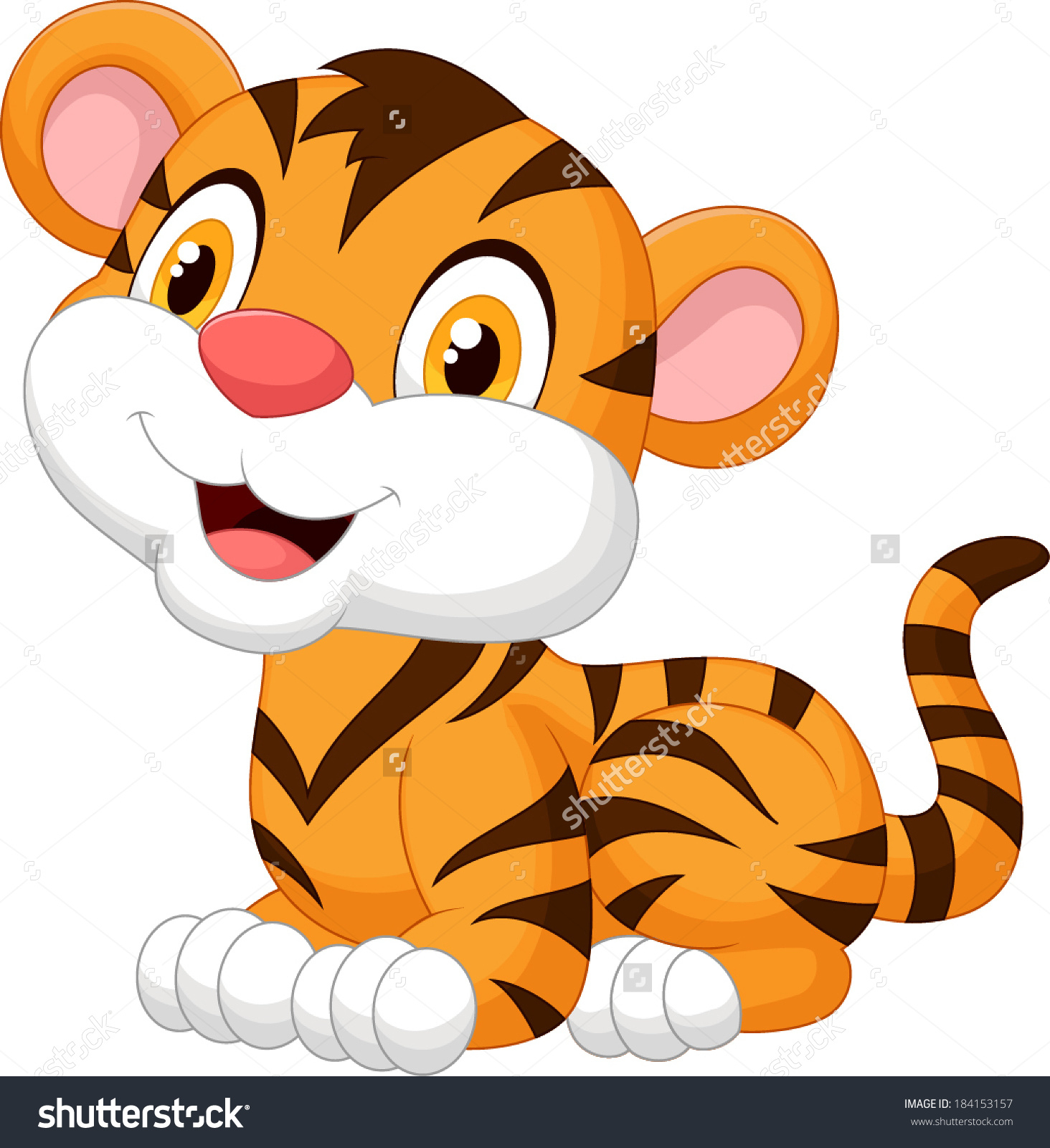 1464x1600 Tiger Drawing Cartoon Tiger Drawing Cartoon How To Draw A Tiger