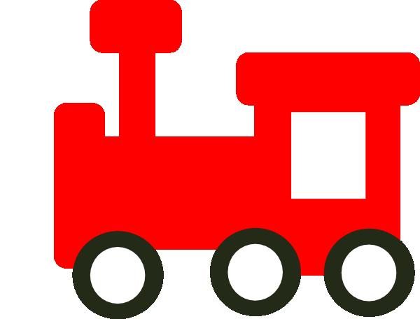 600x456 Red Train Clip Art