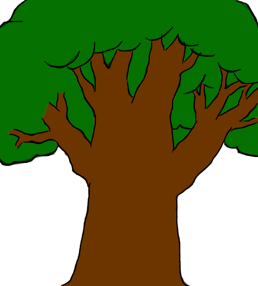 Cartoon Tree Drawing At Getdrawings Com Free For Personal Use