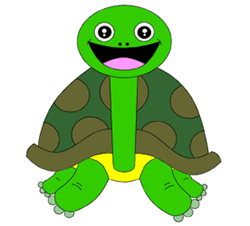 250x226 Cartoon Turtle Step By Step Drawing Lesson