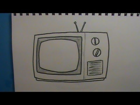 480x360 How To Draw A Tv