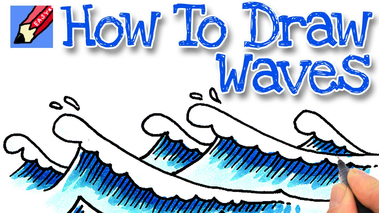 1280x720 How To Draw Waves Real Easy