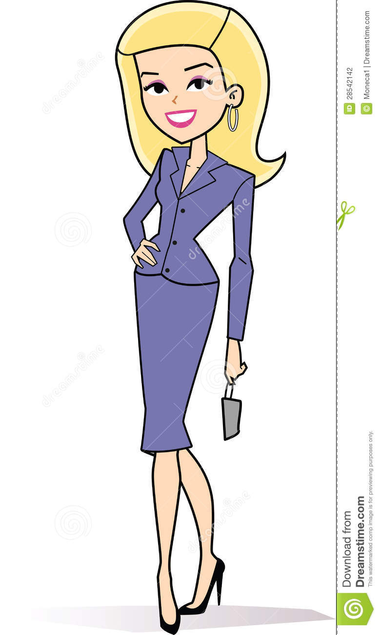 779x1300 Female Blonde Business Clipart Stock Photography Cartoon Woman