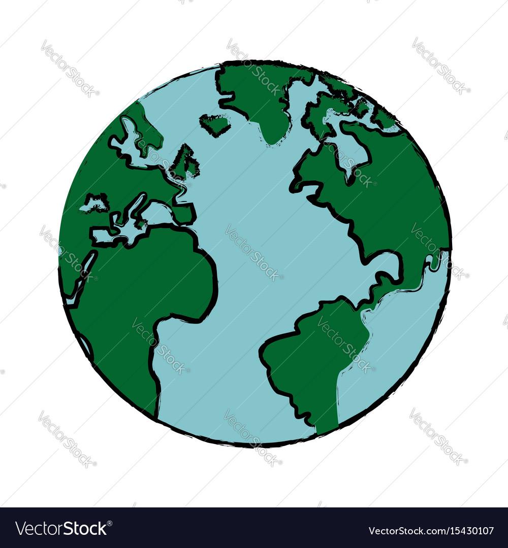 1000x1080 Cartoon World Drawing Drawing Global World Earth Map Atlas Royalty