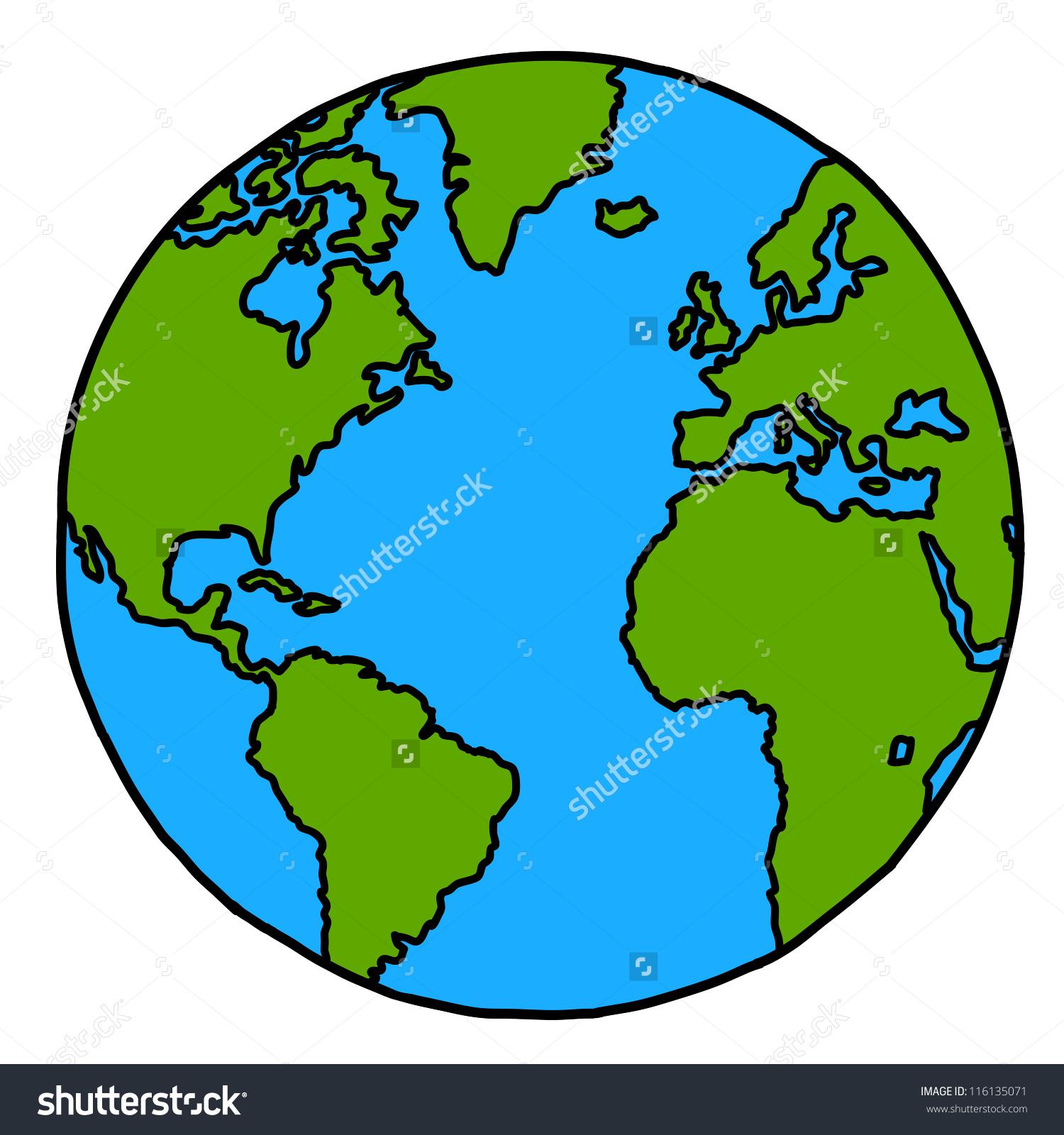 1500x1600 Cartoon World Drawing Planet Earth Hand Writing Cartoon Credit
