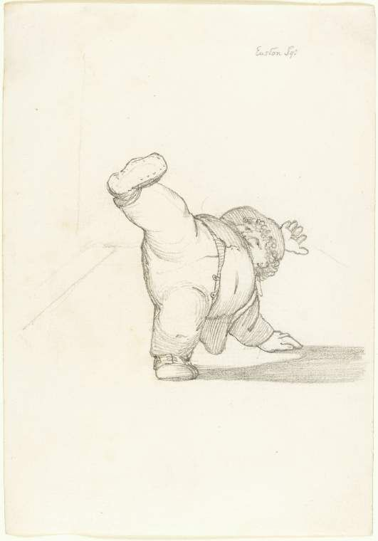 531x760 William Morris Performing A Cartwheel