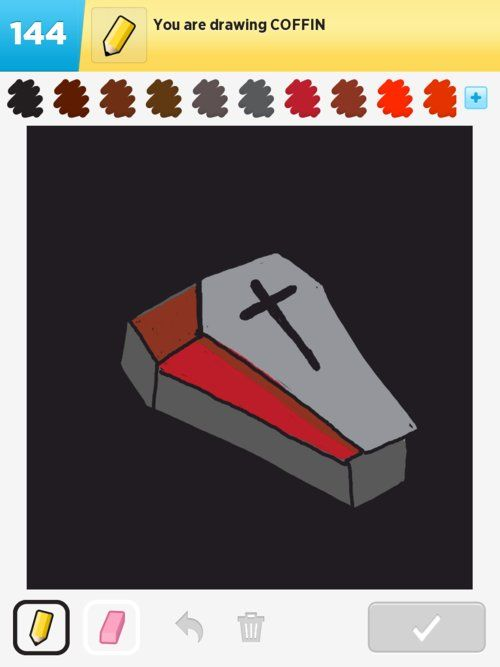 500x667 Coffin Drawings