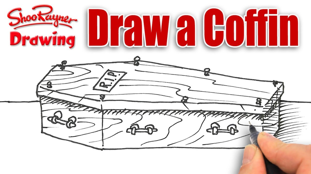 1280x720 How To Draw A Coffin