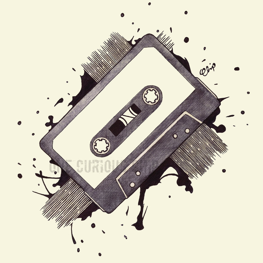 894x894 Cassette Tape Byecuriouschip