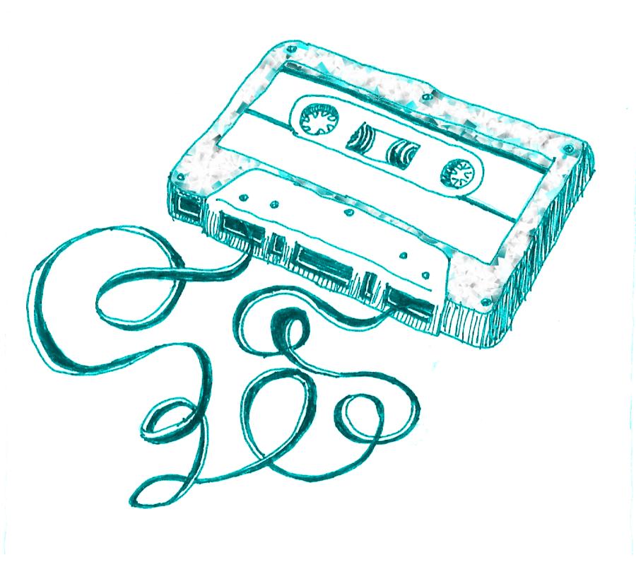 900x809 Cassette Tape By Mallorylucas