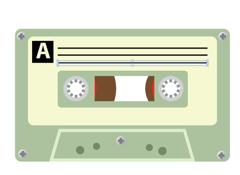 480x350 How To Create A Tdk Cassette Tape Vector Patterns