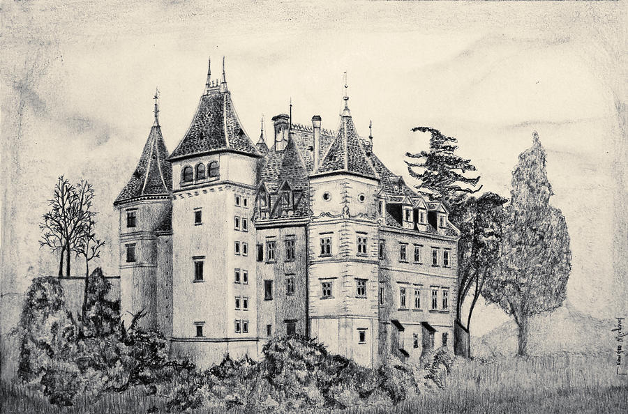 900x594 From Poland Drawing By Leandro Wiegand