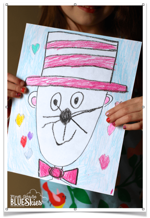 496x722 Directed Drawing Tutorial For Reading Celebration Week {Freebie}