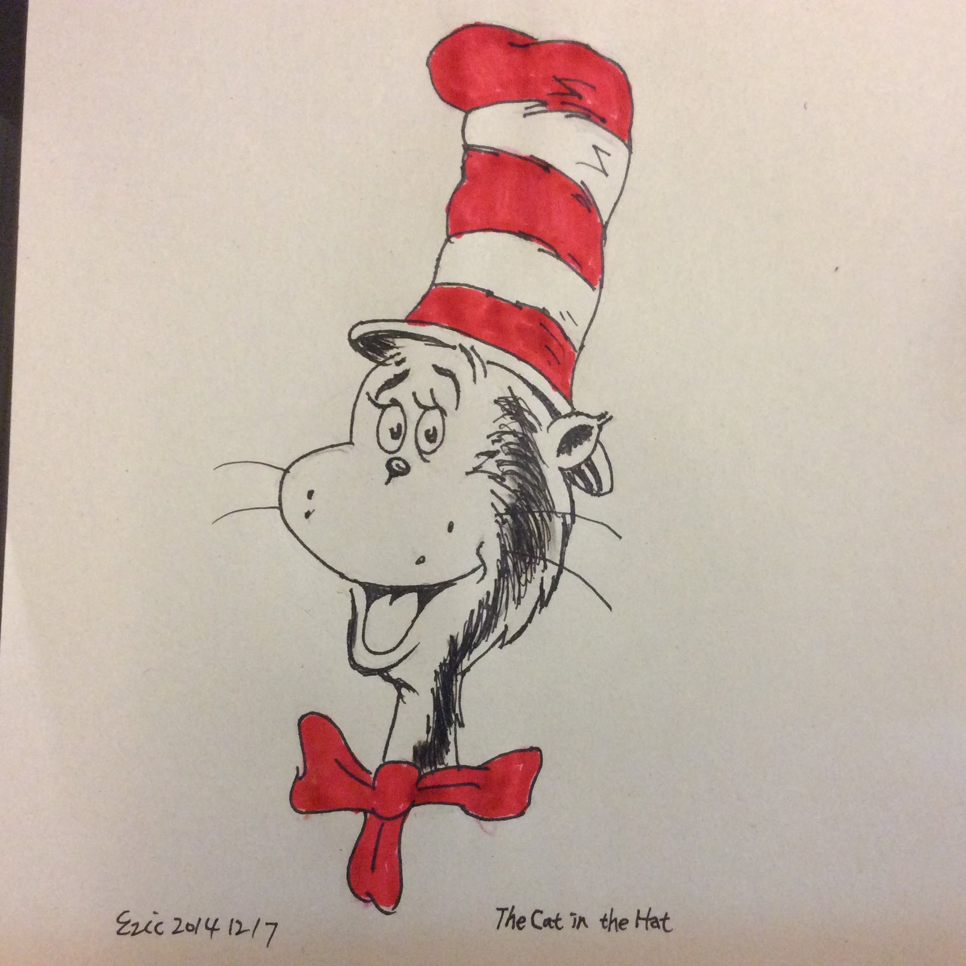 1936x1936 How To Draw The Cat In The Hat
