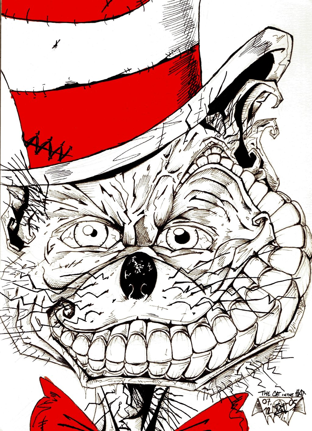 1024x1415 The Cat In The Hat By Fmat