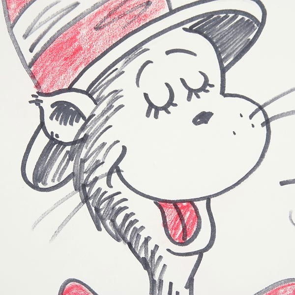 600x600 Cat In The Hat Drawings