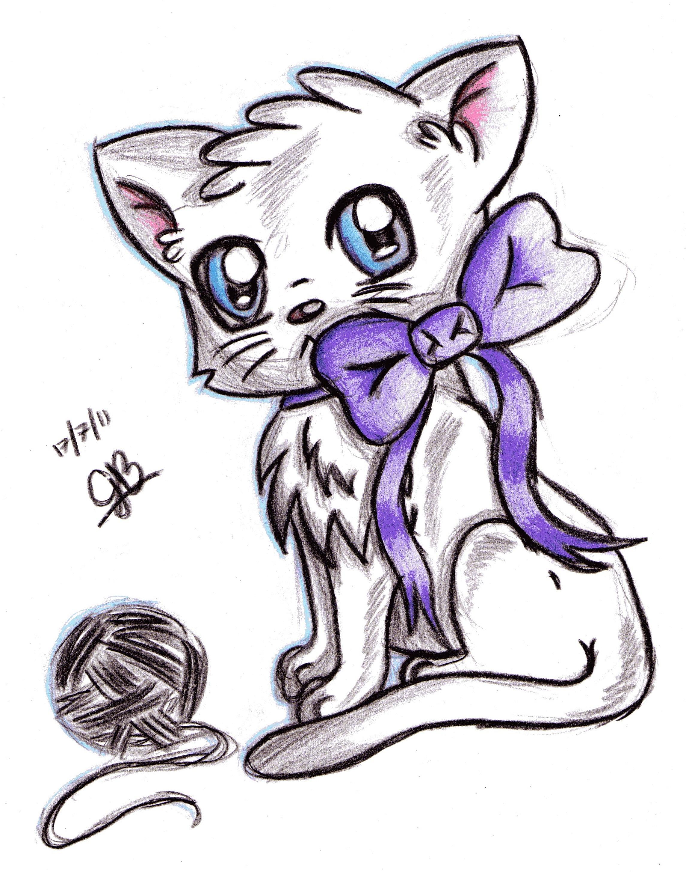 2290x2909 Drawings Of Anime Cats Drawings Of Anime Cats Anime Chibi Cat