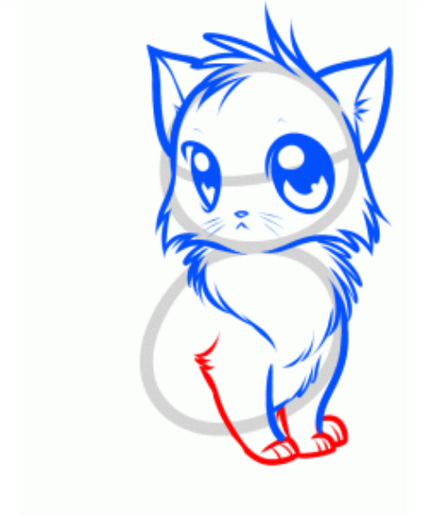 471x579 How To Draw Anime Stylish Cat Drawing Tutorial