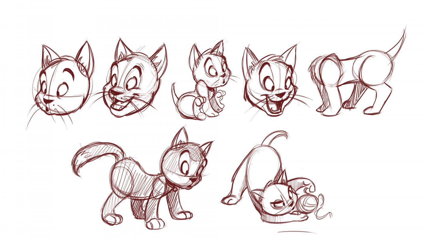 1400x785 How To Draw Cartoon Animals