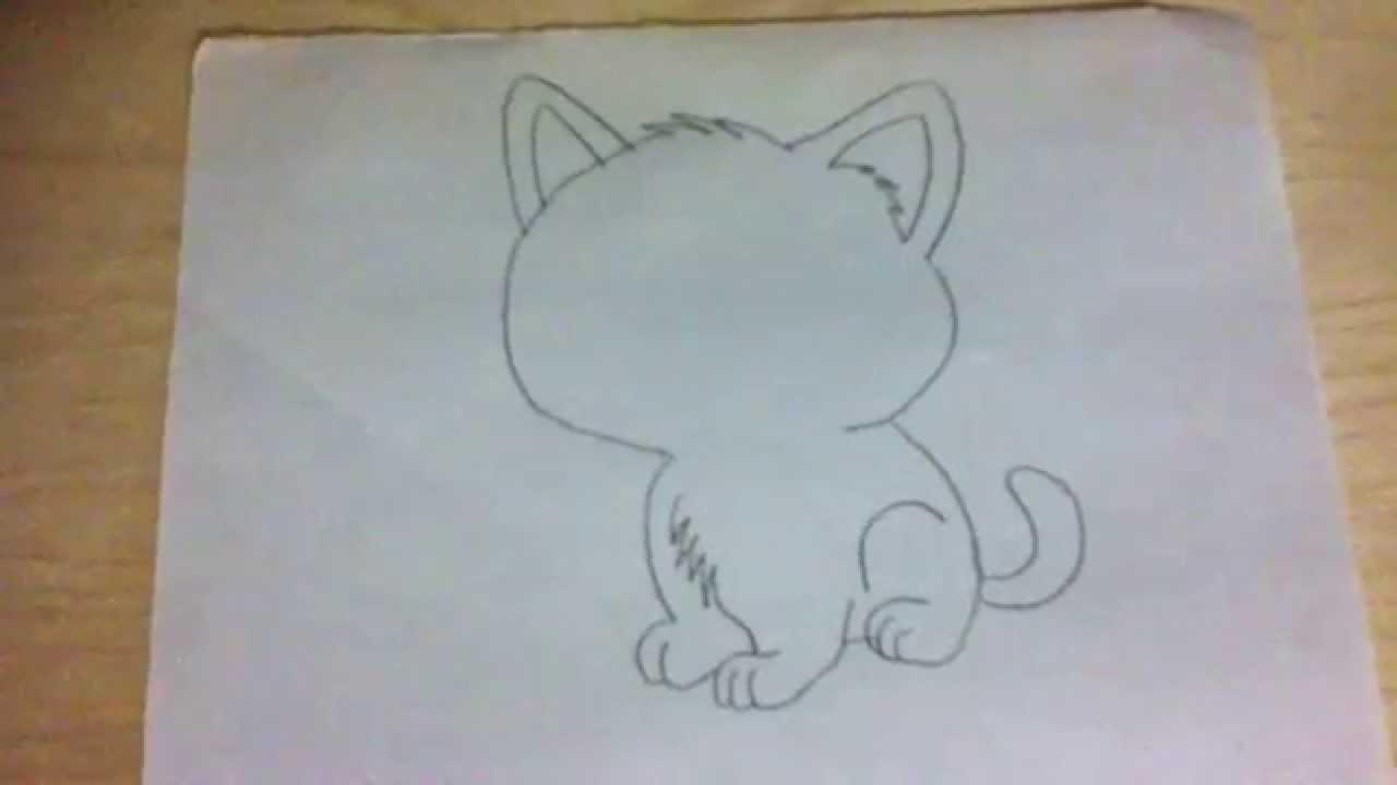 1280x720 How To Draw Cartoon Cat