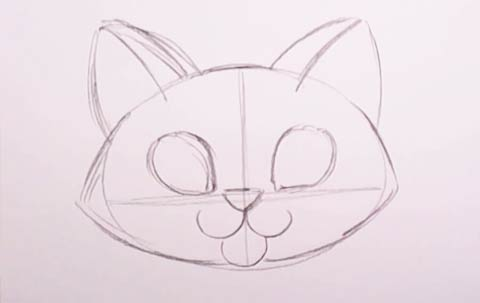 Cat Drawing Easy At Getdrawingscom Free For Personal Use Cat