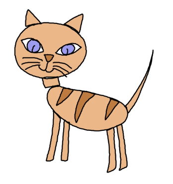 Cat Drawing Easy At Getdrawings Com Free For Personal Use Cat