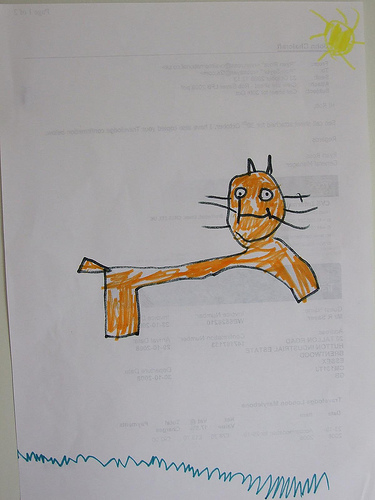 375x500 Drawings Of Cats By Kids