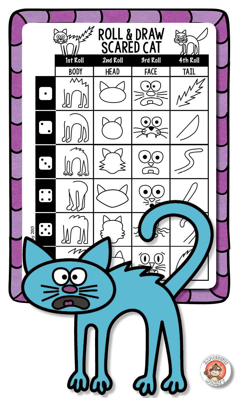 816x1344 Art Activities How To Draw Fall Drawing Fun Cat, Gaming