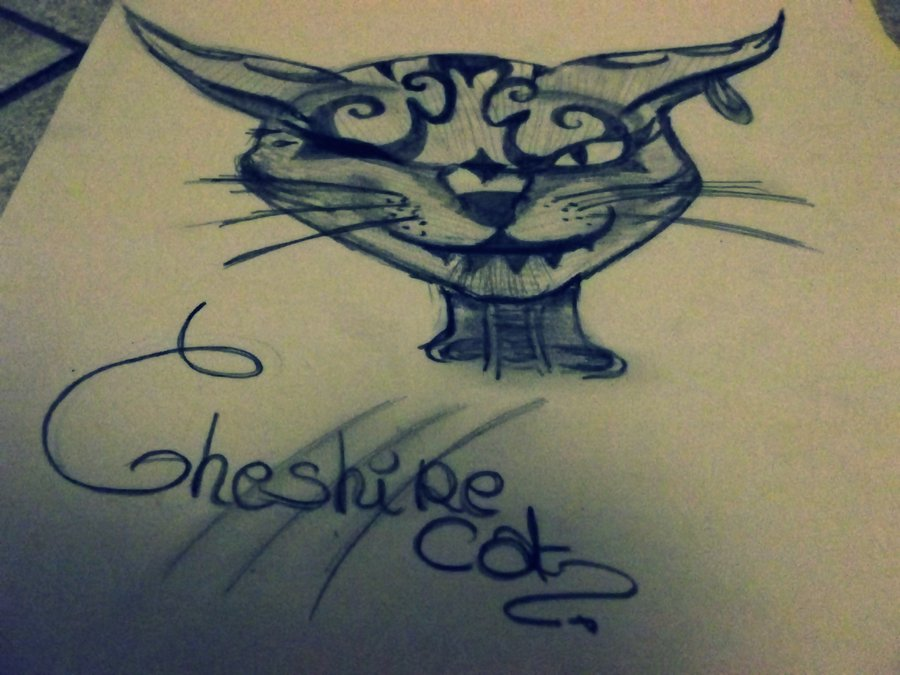 900x675 Drawing Cheshire Cat By Alicexliddell