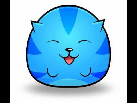 480x360 Happy Sushi Cat