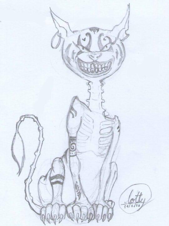 540x720 Cheshire Cat [Fanart Game Alice Madness Return] By Mamochan