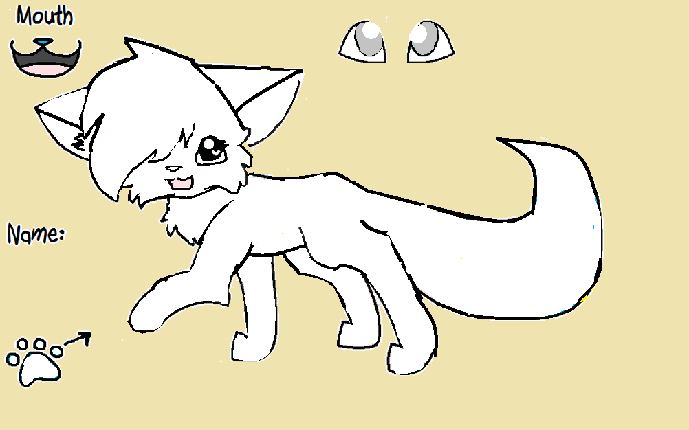 1002x626 Drawings And Templates Warior Cats Roleplaying Fanon Wiki