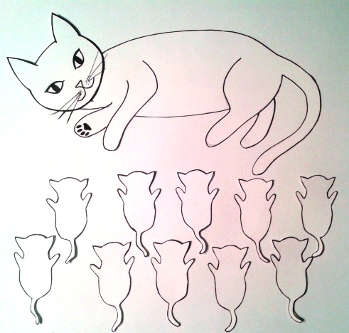 491x468 Kitten Shower Ideas Amp Templates