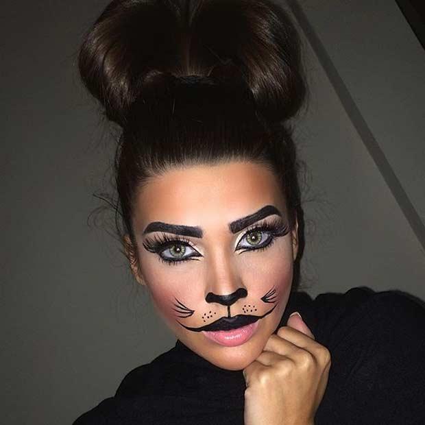 620x620 21 Easy Diy Halloween Makeup Looks Stayglam