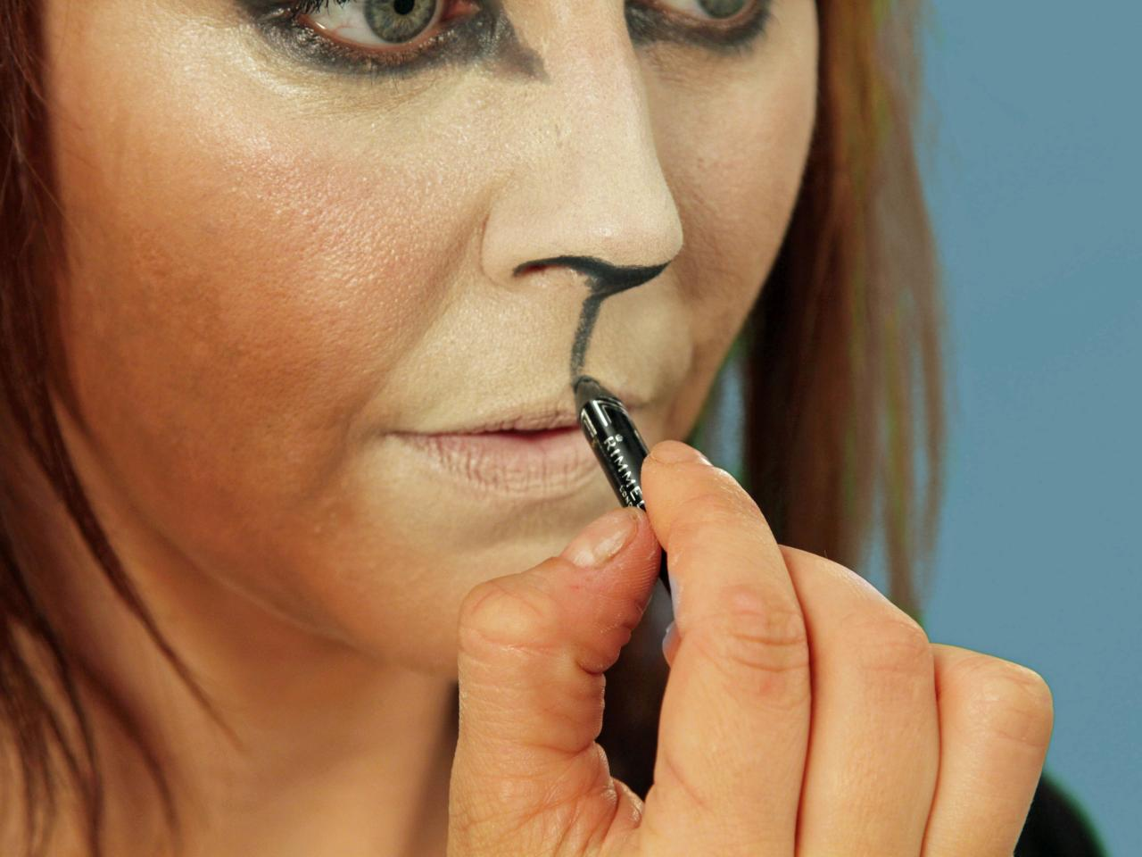 1280x960 Halloween Makeup Tutorial Cat Hgtv