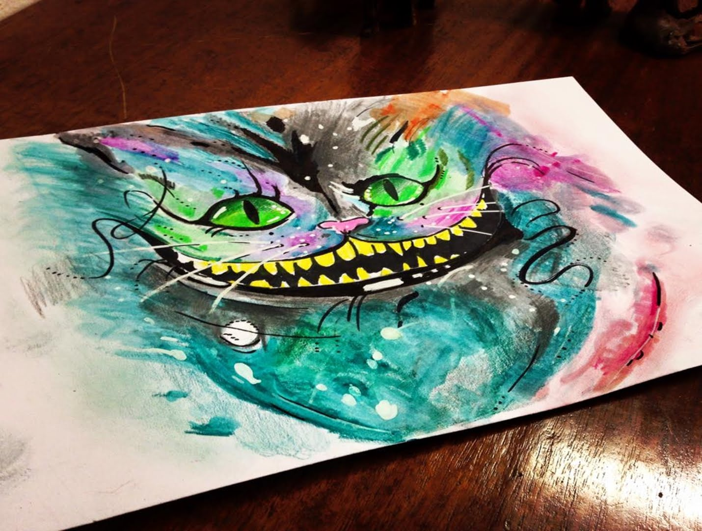 1430x1082 Cheshire Cat Alice In Wonderland Speed Drawing