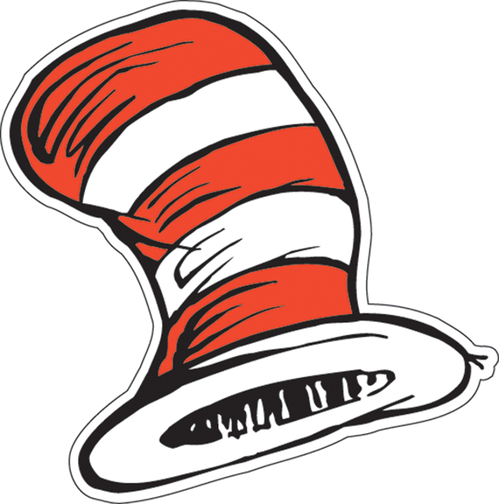 Cat In The Hat Hat Drawing at GetDrawings.com | Free for personal ...