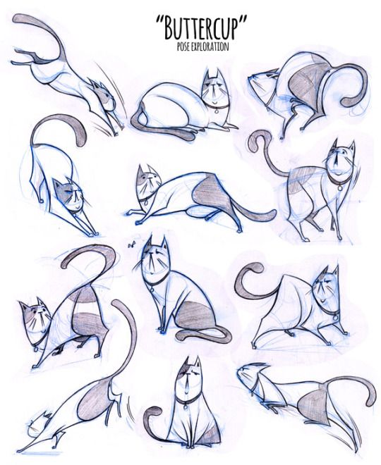 Cat Poses Drawing at GetDrawings com | Free for personal use